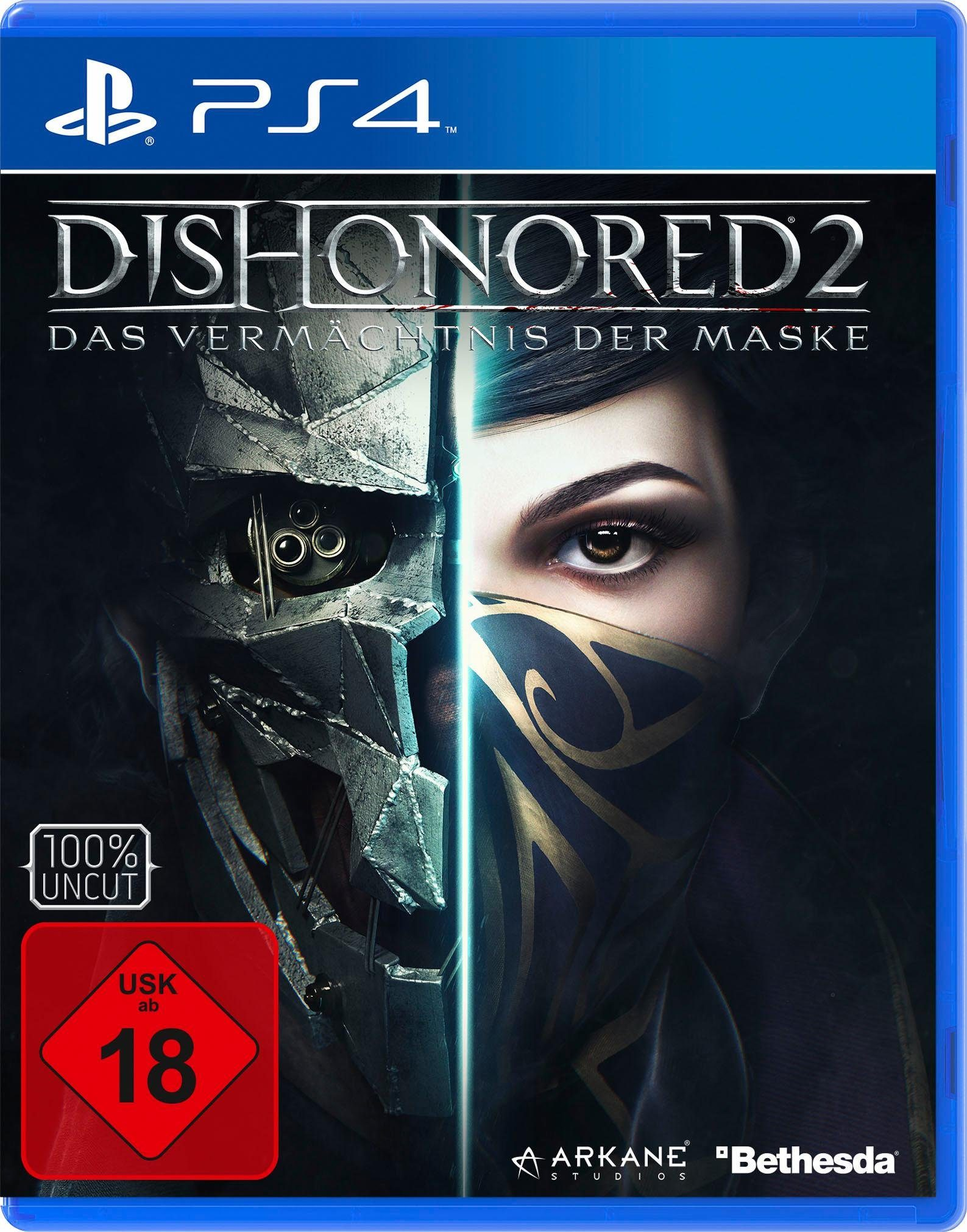 Dishonored 2 PlayStation 4, Software Pyramide